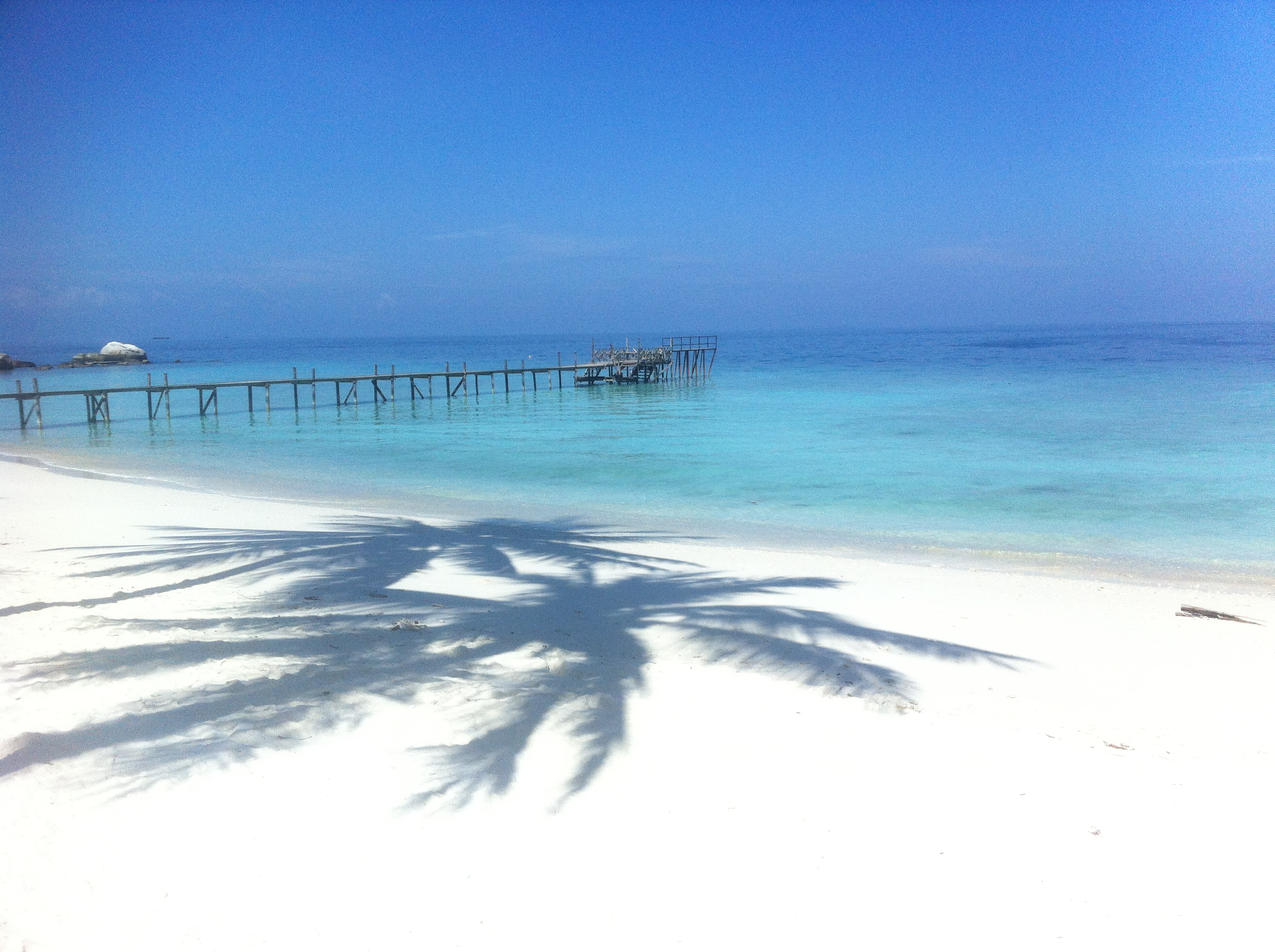 Crystal Clear Water White Beaches In Malaysia Sissel