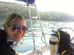 Sissel Henriette - gone diving